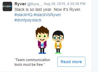 Negative Ad versus Slack