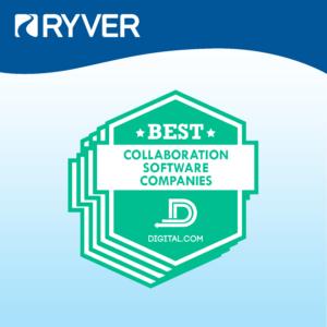 Ryver Best Collaboration Software Companies Award | Digital.com