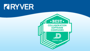 Ryver Best Collaboration Software Companies Award | Digital.com
